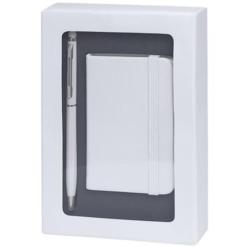 4867-bloc note coffret blanc