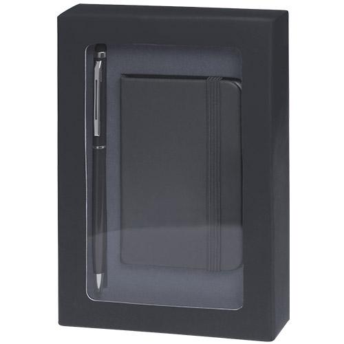 4867-bloc note coffret Noir