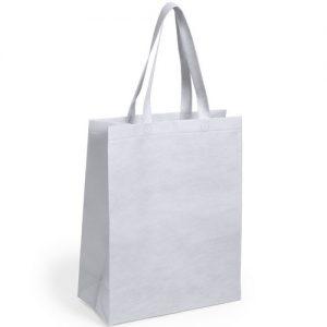 Sac shopping Publicitaire Blanc