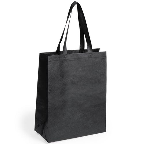 Sac shopping Publicitaire Noire